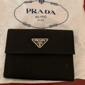 Nylon Bifold Prada Wallet